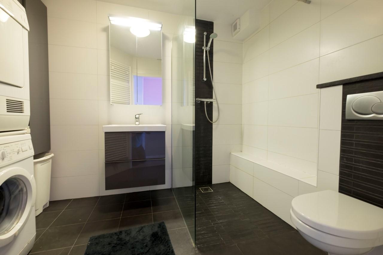 badkamer afzuiging boven douche